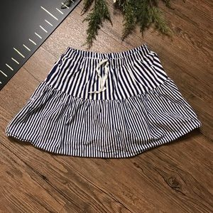 Striped Carter's Girls Navy Skort/Skirt